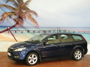 used Ford Focus TDCi Zetec 5dr [110] [DPF] in South-Wales
