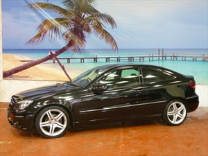 used Mercedes  CLC CLASS 180K Sport 3dr Auto in South-Wales