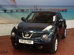 used Nissan Juke Tekna 5dr in South-Wales