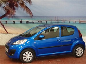 used Peugeot 107 Active 5dr in South-Wales