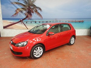 used VW Golf TDi 105 Match 5dr DSG in South-Wales