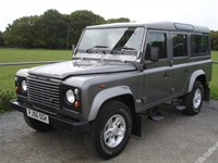 Used Land Rover Defender 110 TD5 County Station Wagon 10 seater