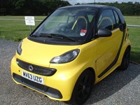 Used Smart Car Fortwo CABRIO CITYFLAME MHD 71BHP