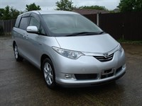 Used Toyota Estima HYBRID 57 AUTO AC NEW SHAPE 7SEAT POWER DOOR DVD/GPS/CAMER FRESH IMPORT