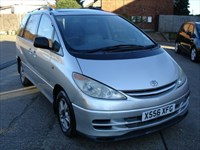 Used Toyota Previa CDX VVT-I AUTO MPV AC LEATHER 7SEATR TWIN SUNROOFS