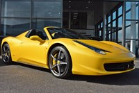 Used Ferrari 458 Spider 2dr HUGE SPEC LIST 260K + 360PHOTO