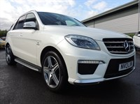 Used Mercedes ML63 AMG M CLASS 5dr Auto BIG SPEC INCLUDING PAN ROOF