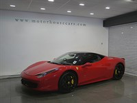 "Used Ferrari 458 Italia F1 ""7 Year Service Pack"""