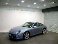 "Used Porsche 911 C2S ""Special Order Fountain Blue"""