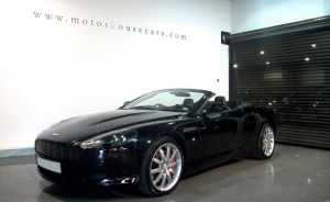 used Aston Martin DB9 V12 Volante T/tronic  in west-yorkshire