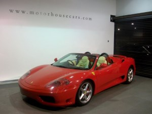 used Ferrari 360 Modena Spider in west-yorkshire