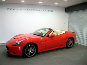 "used Ferrari California ""Low Mileage"" in west-yorkshire"