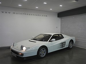used Ferrari Testarossa 1 of Only 3 RHD Cars In White in west-yorkshire
