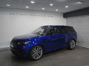 "used Land Rover Range Rover Sport V8 SVR ""Head Up Display"" 2016 MY in west-yorkshire"