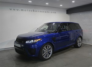 used Land Rover Range Rover Sport (SVR) Head Up Display, Vat Q in west-yorkshire