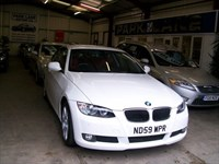 Used BMW 320i SE Coupe, SAT NAV, Red Leather