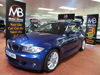 Used BMW 120d 1 SERIES M Sport 6Sp AUX USB Leather Tracker Fitted
