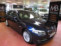 Used BMW 525d 5 SERIES SE Step Auto Full Leather Heated Seats New Shape Hill Hold