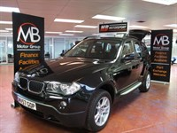 Used BMW X3 2.0d SE Full Leather Sport Seats