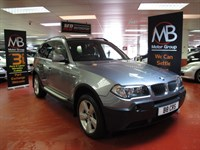 Used BMW X3 2.0d Sport Full Leather Bury Hands-Free 6Sp