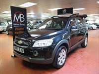 Used Chevrolet Captiva VCDi LTX Auto [7 Seats] Full leather 4WD