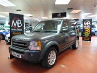 Used Land Rover Discovery Td V6 SE Satnav Full Leather 7St DVD Media Pack Xenons New Shape