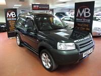 Used Land Rover Freelander Td4 Kalahari Hardback Sony Radio/CD Sport Leather Seats
