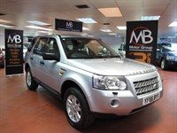 Used Land Rover Freelander Td4 SE Pan-Roof Satnav Alpine Bluetooth Sport Leather Seats