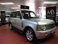 Used Land Rover Range Rover 3.0 Td6 VOGUE Auto Satnav Full Leather L322