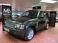Used Land Rover Range Rover TDV8 VOGUE SE Auto TV Sat Nav Rear Media Pack Rev-Cam