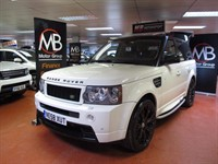 Used Land Rover Range Rover Sport TDV8 HST Auto Overfinch Pack Sat Nav Elec- Sunroof ACC F/Lth