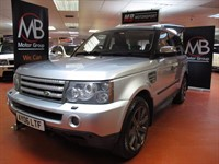 Used Land Rover Range Rover Sport TDV6 HSE Auto Sat Nav Full Leather Xenons Cool Box