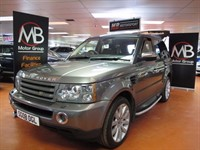 Used Land Rover Range Rover Sport TDV6 HSE Auto Full Leather Xenon Cool Box Bluetooth AUX