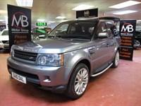 Used Land Rover Range Rover Sport TDV6 HSE CommandShift Auto Facelift MDL Key-Less Sat Nav LED