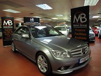 Used Mercedes C220 C CLASS CDI SPORT Auto Panoramic Roof Full Leather