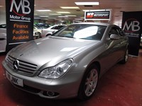 Used Mercedes CLS320 CDI CLS Tip Auto Sat Nav Full Leather Sport Seats