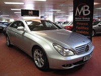 Used Mercedes CLS320 CDI CLS Tip Auto Satnav Full Leather DVD AUX