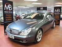Used Mercedes CLS320 CDI CLS Tip Auto Sat Nav Full Leather