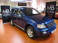 Used Mercedes ML270 M CLASS CDI Tip Auto Full leather Elec- Glass Sunroof 4WD