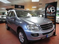 Used Mercedes ML320 M CLASS CDI SE Tip Auto 4Matic Sat Nav Full Leather Sport St Xenons 99K Miles