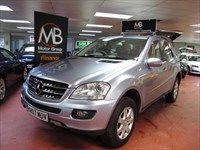 Used Mercedes ML320 M CLASS CDI SE Tip Auto 4Matic Sat Nav Full Leather Sport Seats Xenons
