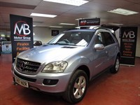 Used Mercedes ML320 M CLASS CDI SE Tip Auto 4MATIC Sat Nav Full Leather Rear Media Pack