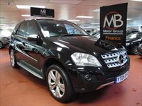 Used Mercedes ML320 M CLASS CDi SPORT Tip Auto Sat Nav Playstation DVD Media 61K Miles Only
