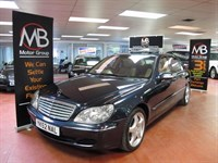 Used Mercedes S600 S600L LIMOUSINE Auto LWB Bi-Turbo Satnav Tracker TV