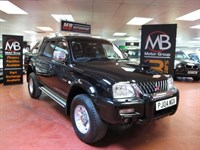 Used Mitsubishi L200 L200 WARRIOR TD LWB Full Leather *** NO VAT