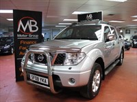 Used Nissan Navara DCi AVENTURA D/C Auto Satnav Full Leather ** NO VAT
