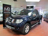 Used Nissan Navara Double Cab Aventura 2.5dCi 4WD Sat Nav Full Leather ** NO VAT