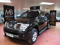 Used Nissan Navara Double Cab Pick Up Aventura 2.5dCi 4WD Auto *** NO VAT Sat Nav
