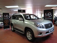 Used Toyota Land Cruiser D-4D LC4 Auto [173] Satnav Full Leather 7St B/Tooth Xenon's