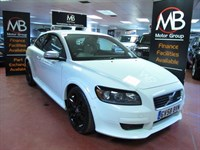 Used Volvo C30 SPORT D5 Bluetooth White Leather Seats